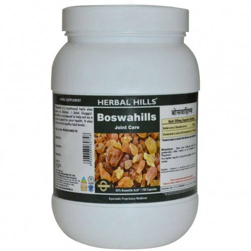 Herbal Hills Boswahills (SHALLAKIHILLS) Joint Care Capsules Value Pack (700)